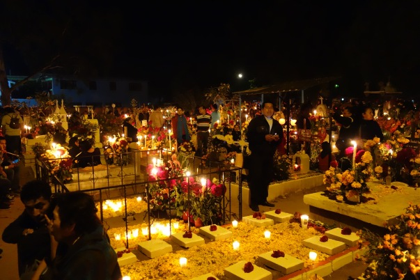 Xoxocotlan at night