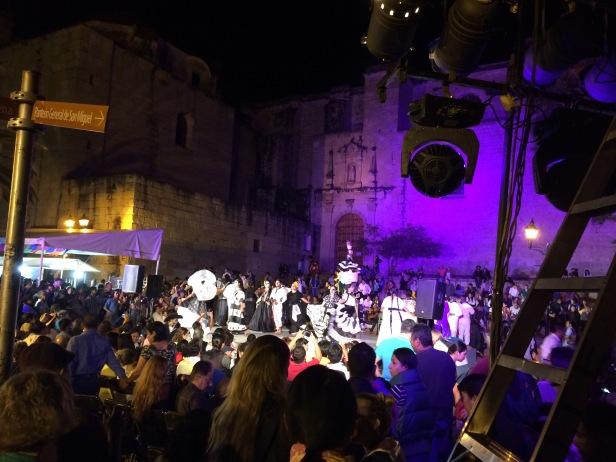 Oaxaca street parade